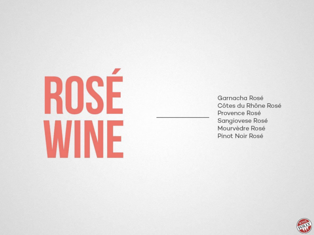 rose wine folly
