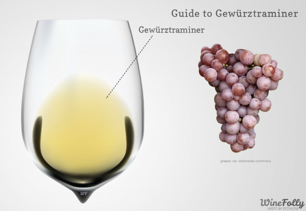 gewurztraminer wine folly