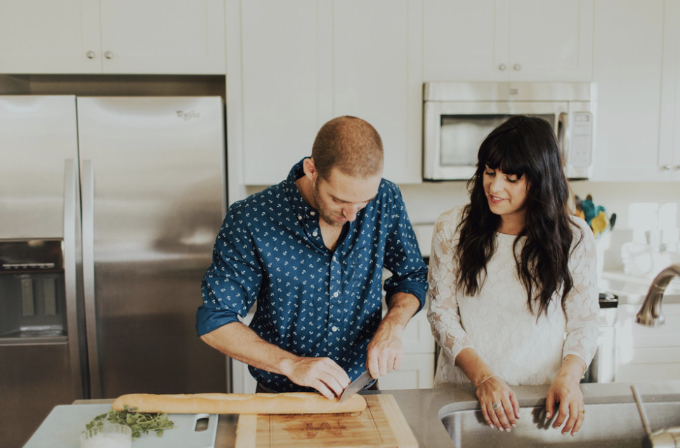 Wes Minichiello and Angela Samuels of The Hardware House Kitchen