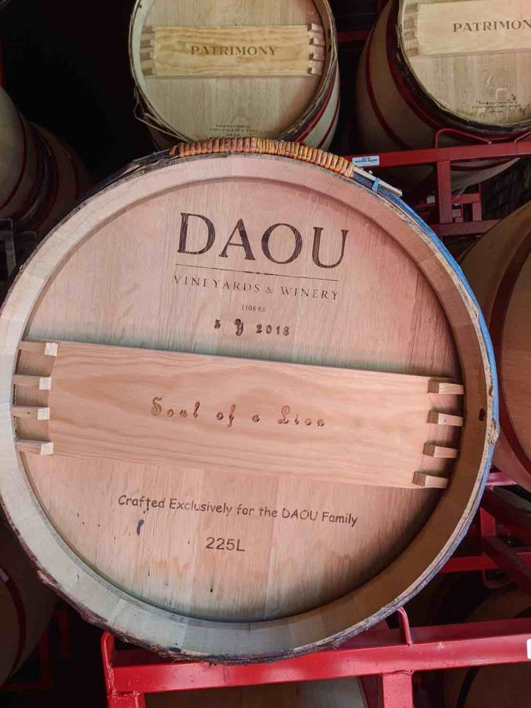 Daou soul of the lion barrel